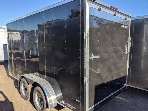 2021 Enclosed American Hauler 7'x14' - Taurus Trailers