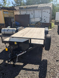 2019 C&B Steel Car Hauler Comp16-5TA 7'x16' - Taurus Trailers