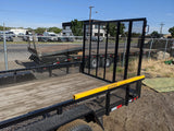 2019 Walton Mowpro 7'x 18' w/Gorilla lift ramp assist - Taurus Trailers