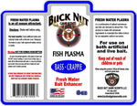 Buck Nut Fresh Water Fish Plasma - Buck Nut Game Scents