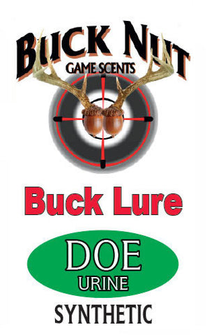 Buck Nut Synthetic Doe Urine Buck Lure - Buck Nut Game Scents