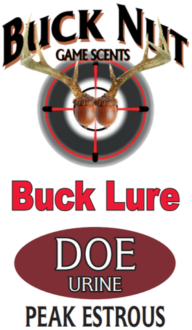 Buck Nut Organic Doe Urine Buck Lure - Buck Nut Game Scents