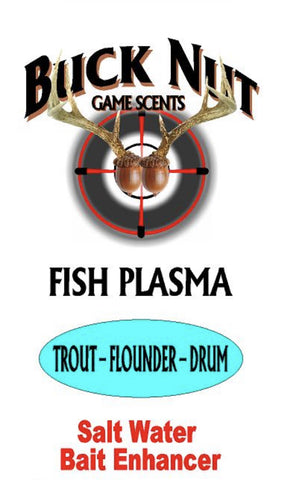 Buck Nut Salt Water Fish Plasma - Buck Nut Game Scents