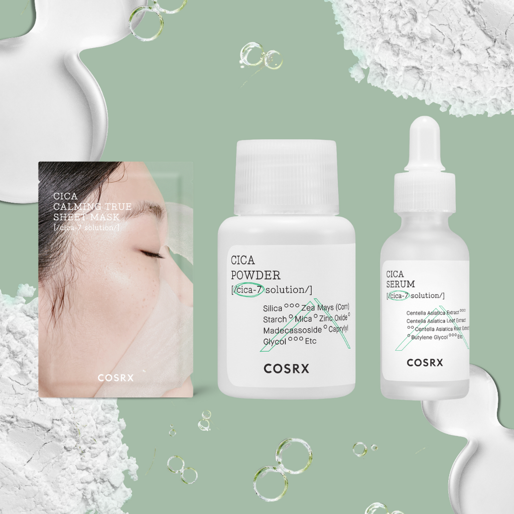 Calming and Soothing Korean Skincare, Our COSRX CICA Favourites