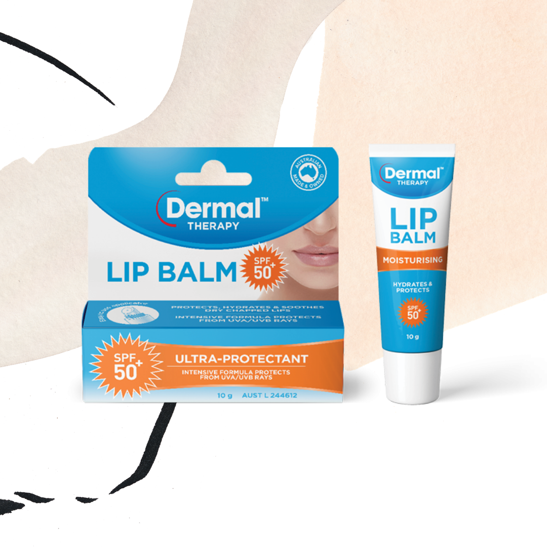 Shop Dermal Therapy Lip Balm SPF 50+ in Singapore | Layersofskins