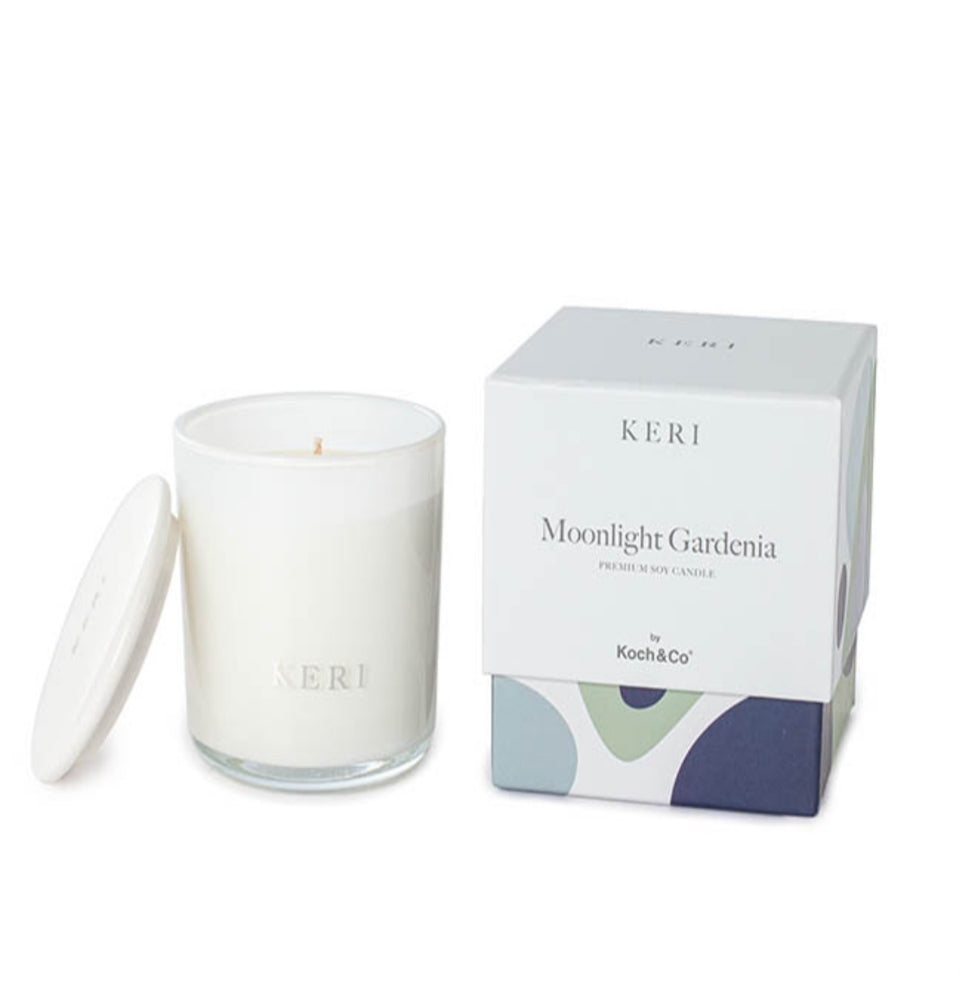Moonlight Gardenia Luxury Soy Candle Mini Boutique 140g