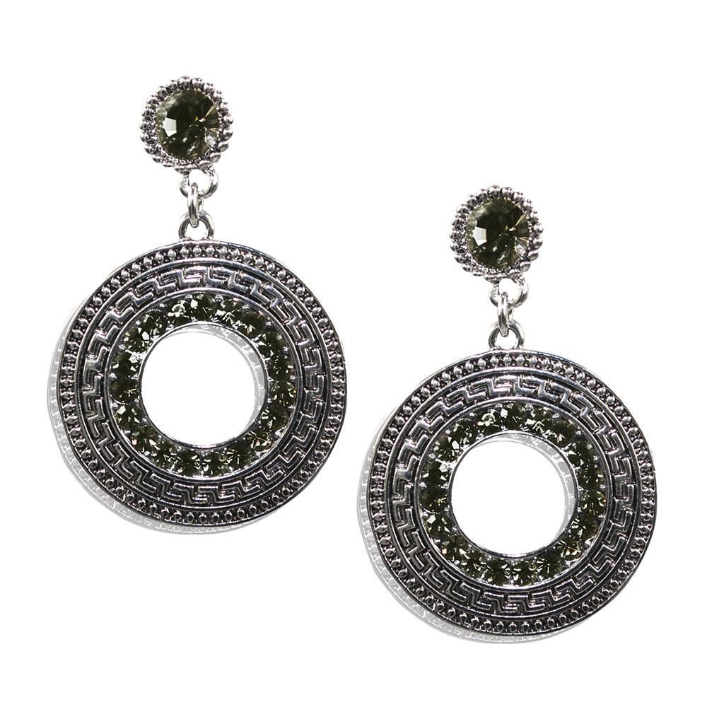 Caster Earrings-Olive