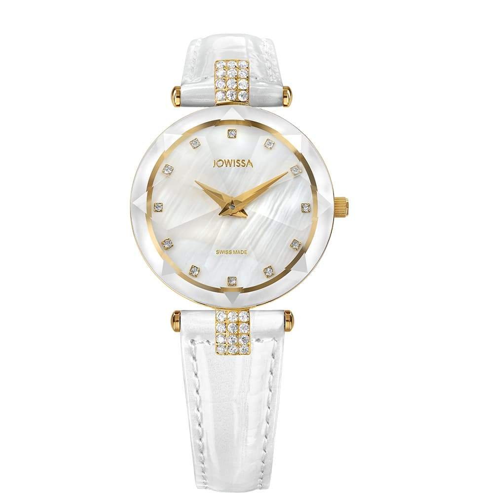 Facet Strass Swiss Ladies Watch J5.618.M