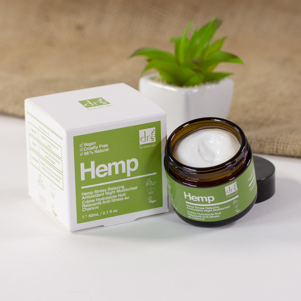 Hemp Stress Relaxing Antioxidant Night Moisturiser