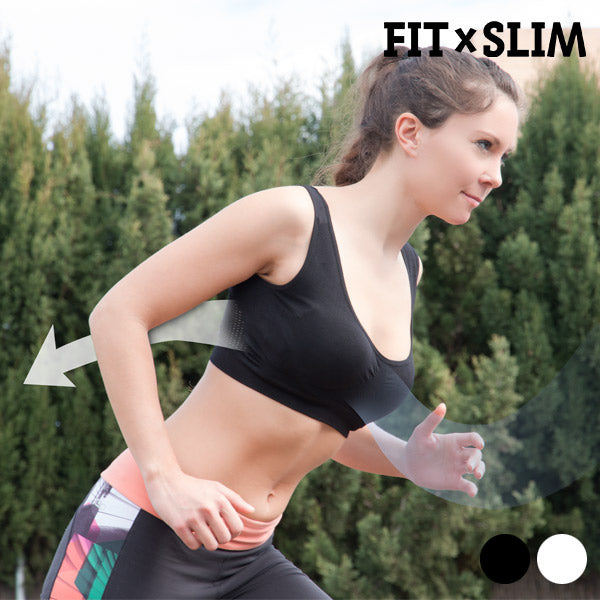 AirFlow Technology Fit x Slim Sport-BHs (2er Pack)