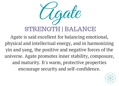 Agate gemstone meaning