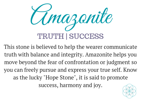 Amazonite gemstone meaning aroma couture
