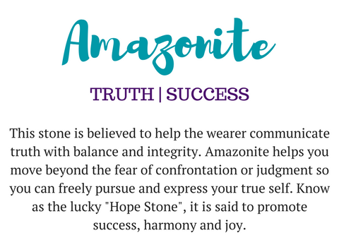 amazonite gemstone meaning