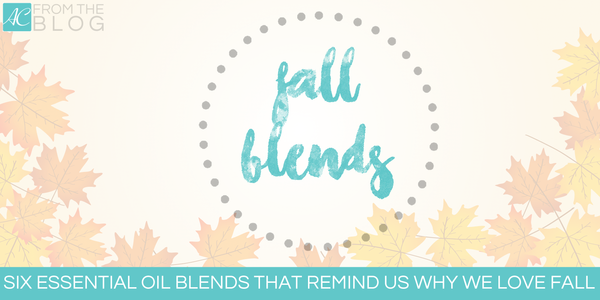 Essential oil blends that remind us why we love fall