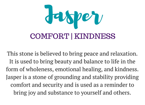 Jasper Gemstone Meaning Diffuser Jewelry