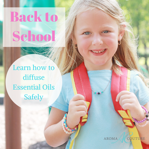 back to school how kids diffuse essential oil