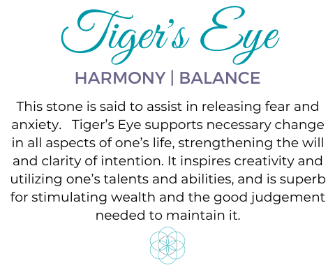 Tigers Eye gemstone meaning aroma couture
