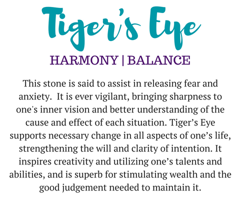 tiger's eye gemstone meaning
