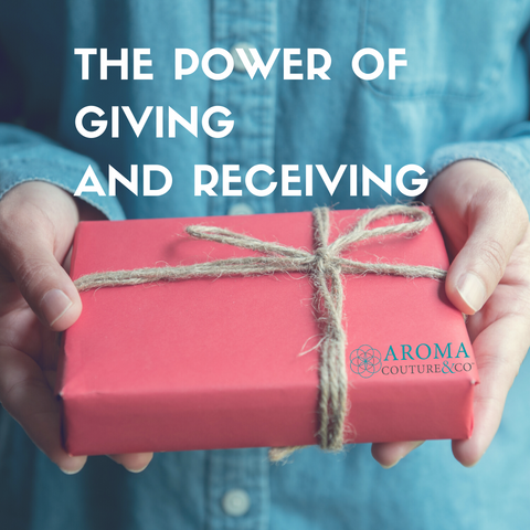 giving and receiving blog