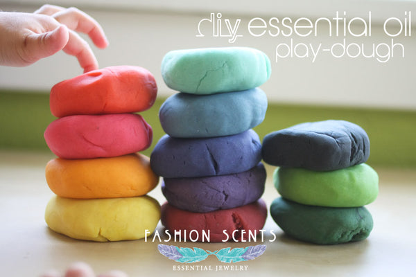 Play Dough Essential Oil DIY