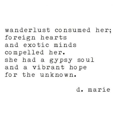 wanderlust quote aroma couture