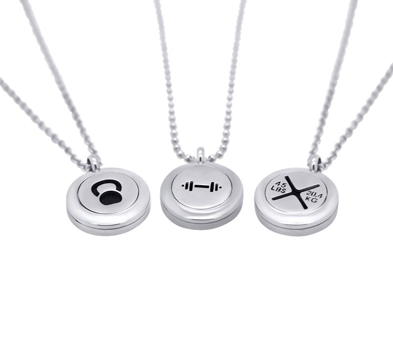 fitness diffuser necklaces