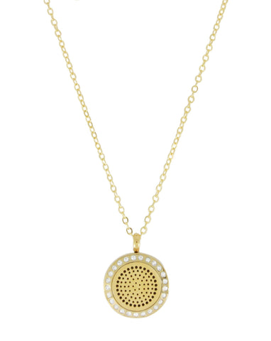 'Posh One' | Aroma Necklace Gold
