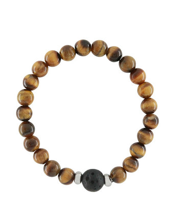 tiger eye lava bracelet diffuser essential oil jewelry aroma couture aromatherapy kids