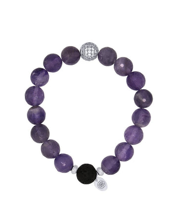 amethyst lava diffuser bracelet essential oils aroma couture