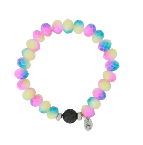 Aroma Couture Kids Essential Oil Lava Bracelet Aromatherapy Diffuser Bracelet