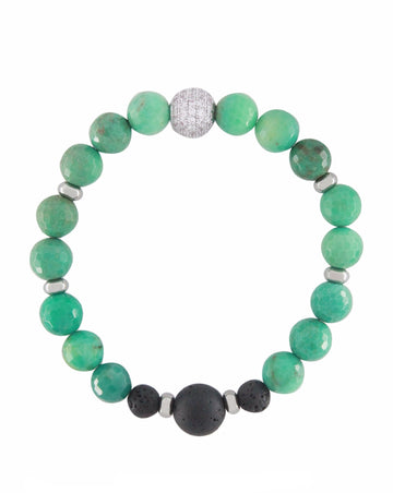 chrysoprase lava diffuser bracelet essential oil jewelry aroma couture aromatherapy