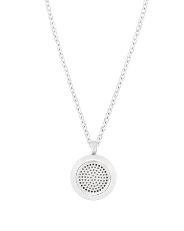 Aroma Couture Essential Oil Aromatherapy Stainless Steel Diffuser Necklace
