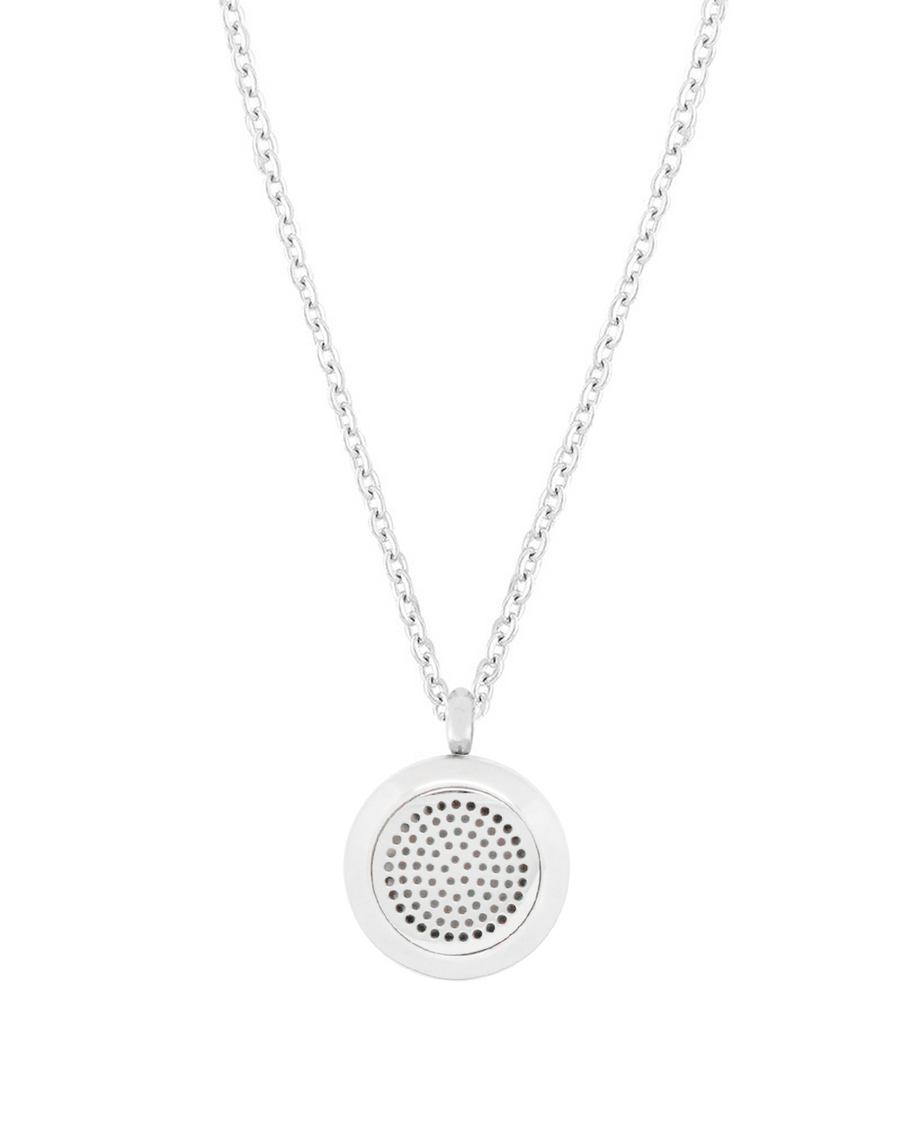 posh 2 diffuser necklace silver aroma couture Wood Oil Diffuser aroma couture essential oil aromatherapy stainless steel diffuser necklace