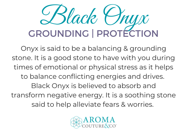 black onyx gemstone meaning