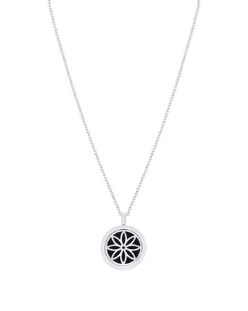 daisy locket diffuser necklace aroma couture aromatherapy jewelry essential oil