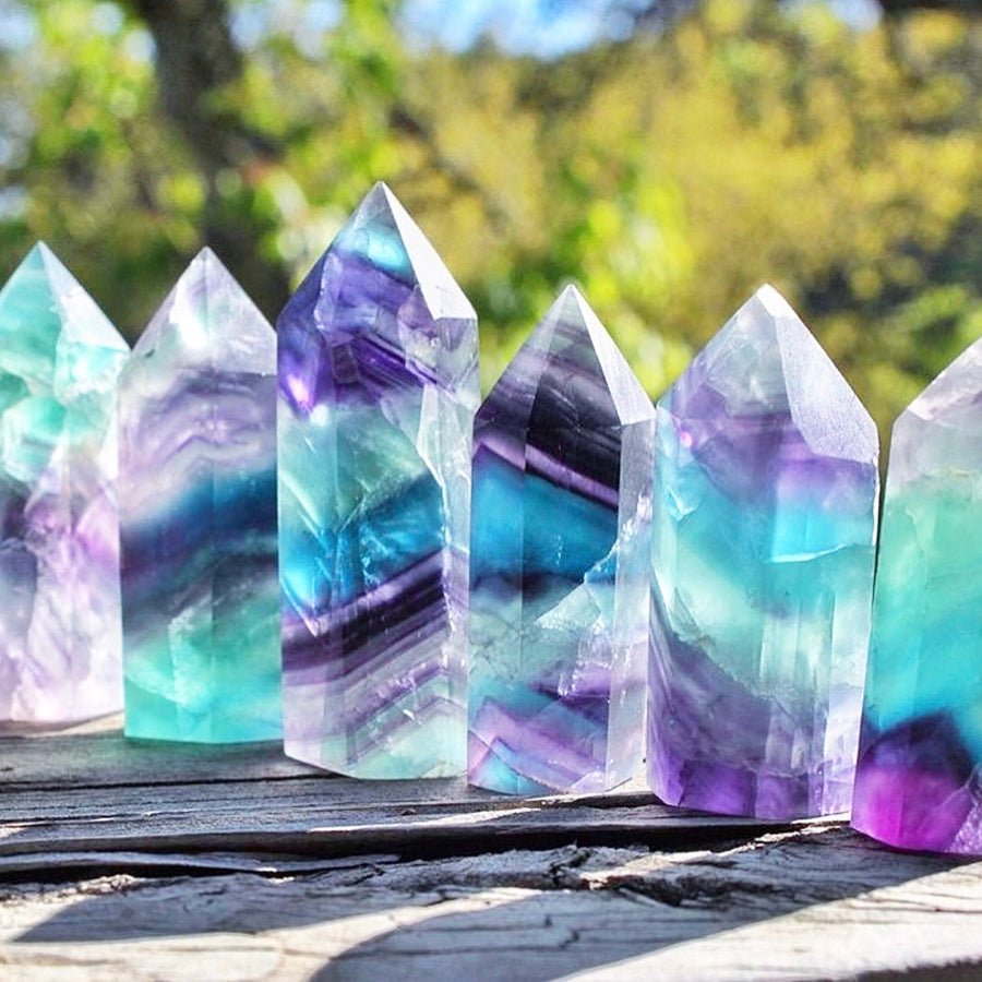 High Quality Fluorite Crystal