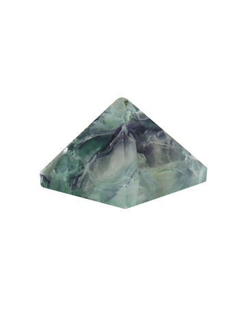 Fluorite pyramid aroma couture crystals