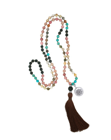 jasper mala diffuser necklace
