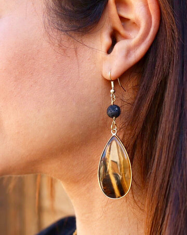 diffuser essential oil jewelry aroma couture aromatherapy earrings