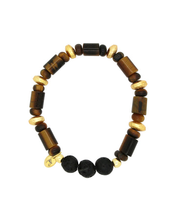 tigers eye lava bracelet essential oils