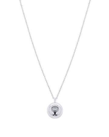 tree pose yoga diffuser necklace