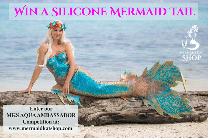 Win a Sponsorship for a Silicone Mermaid Tail – MKS AQUA AMBASSADOR Competition