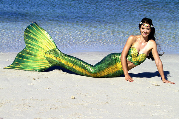 Hire a Mermaid Tail - Silicone Mermaid Costumes