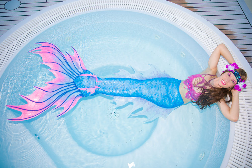 How to become a mermaid influencer