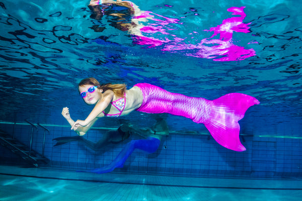 Mermaid costume for swimming