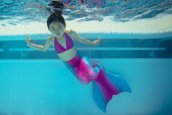 Mermaid tails for swimming for children