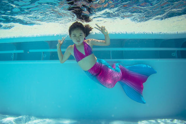Minimum age for mermaid tails