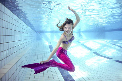 Swimmable Mermaid Tails for Girls