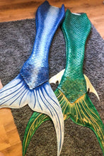 Load image into Gallery viewer, Barracuda Silicone Tails for Mermaids and Mermen