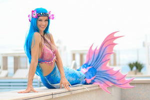 One of a kind silicone mermaid tails